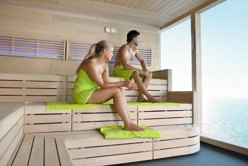 Spa Meer Saunabereich